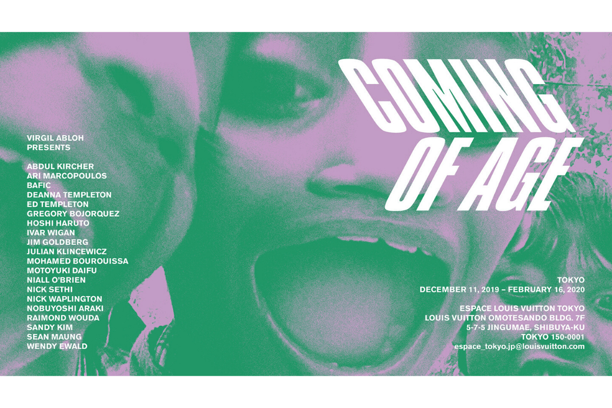「COMING OF AGE」展