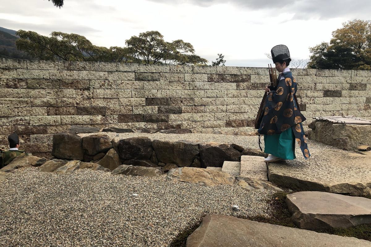 施設の素材は石が多く、綺麗に敷き詰められているので、帰るころには「この石、たまらなーい」ってなっているはず。やっぱり着物と相性がいい。